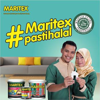 Cat Maritex Pasti Halal
